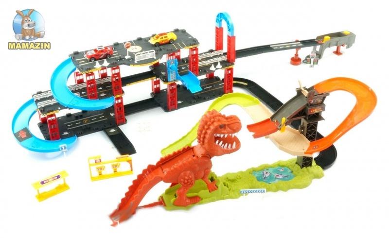 "Трек ""Динозавр. Поймай тачку"""
