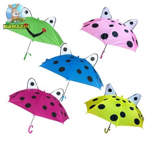 Зонт с ушками и свистком, 45 см