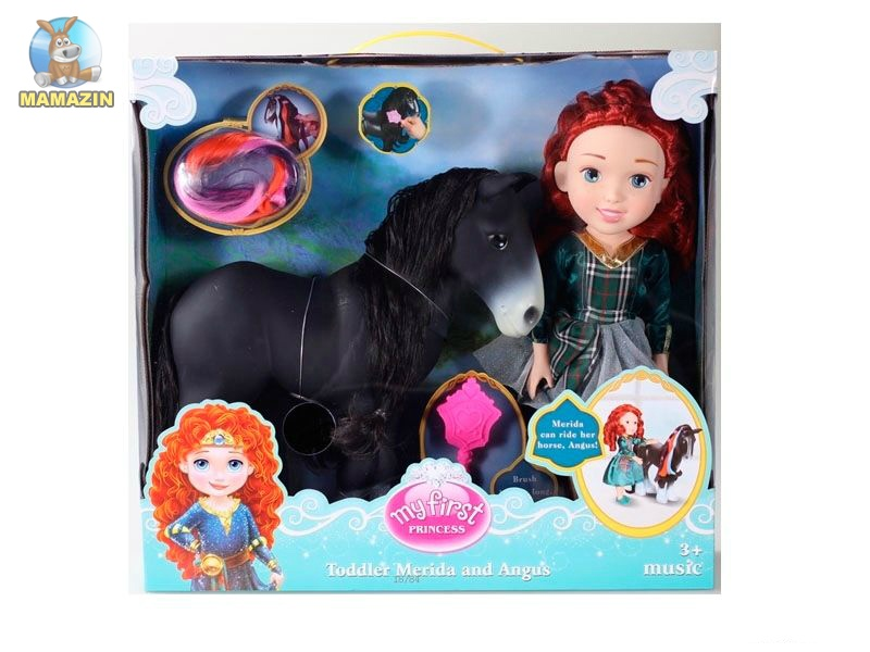 """Кукла с лошадкой """"Отважная"""""""