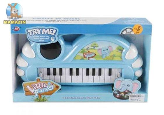 Пианино, 3D свет