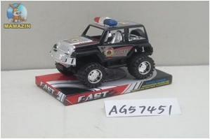 Машина полиция инерционная