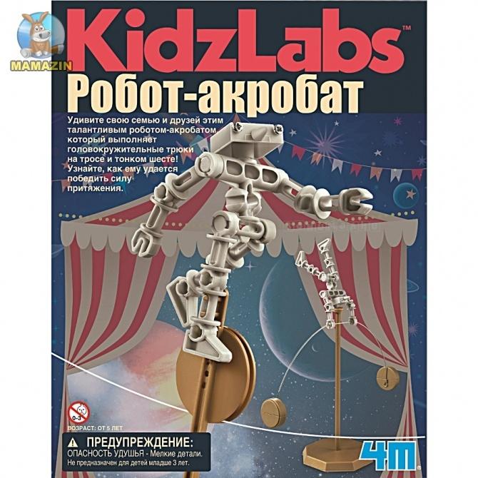 Детская лаборатория. Балансирующий робот