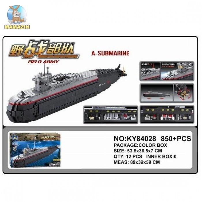 Конструктор KAZI Военная субмарина