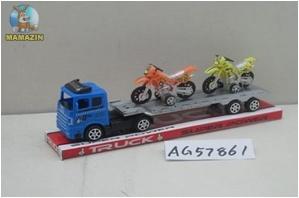 Трейлер инерционный с мотоциклами