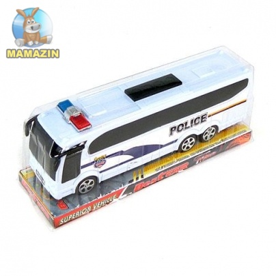 Автобус инерционный полиция