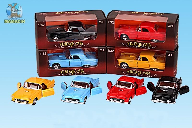 """Машина метал """"Vintage car"""", 1:32"""