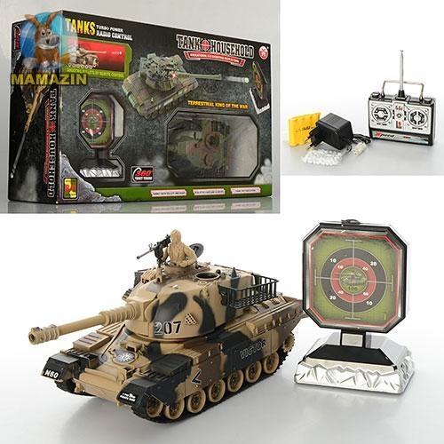 Танковый бой на р/у