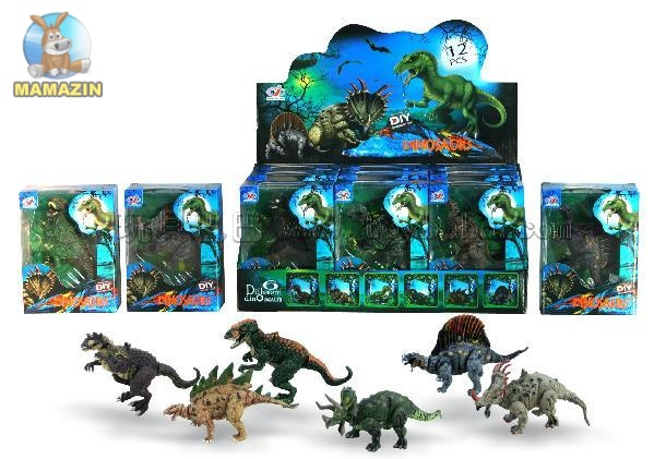 """Животные резиновые """"Динозавры"""""""