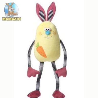 Мягкая игрушка Зайчик Шалун