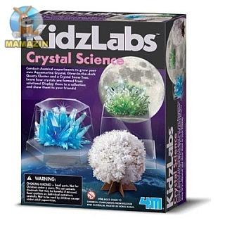 Детская лаборатория. Наука о кристаллах