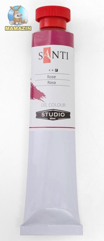Краска масляная Santi Studio 60мл Краплак фиолетовый