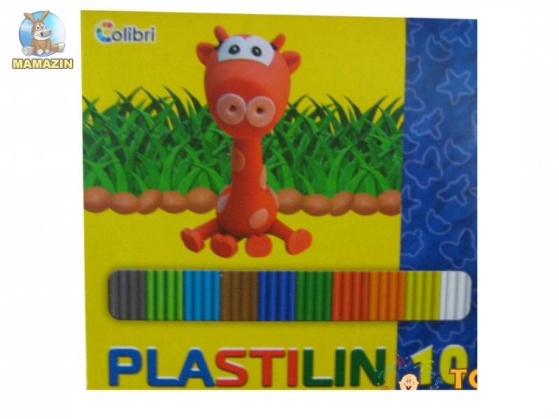 Пластилин Дитячий 10 кольорів