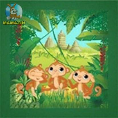 Вышивка бисером «Три обезьянки»