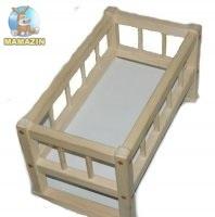 Кроватка деревянная смерека