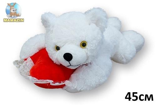 Медведь Соня с сердцем, 40см
