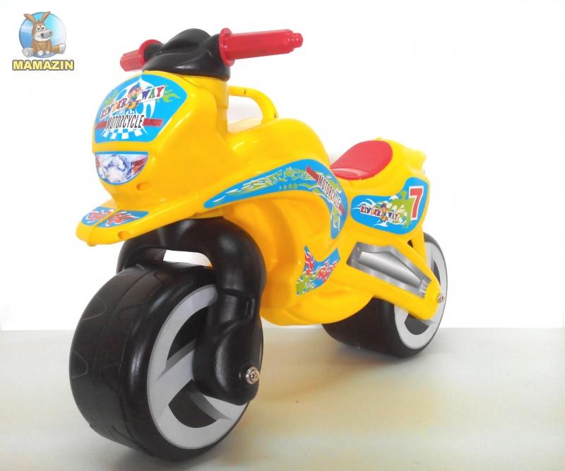 """Каталка """"Мотоцикл"""" Желтый"""