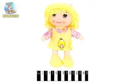 Кукла мягкая в шляпке