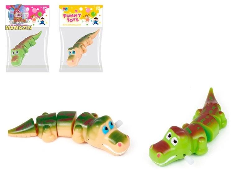 Крокодил, заводной