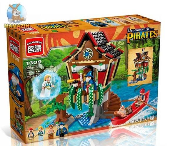 Конструктор BRICK пиратская серия