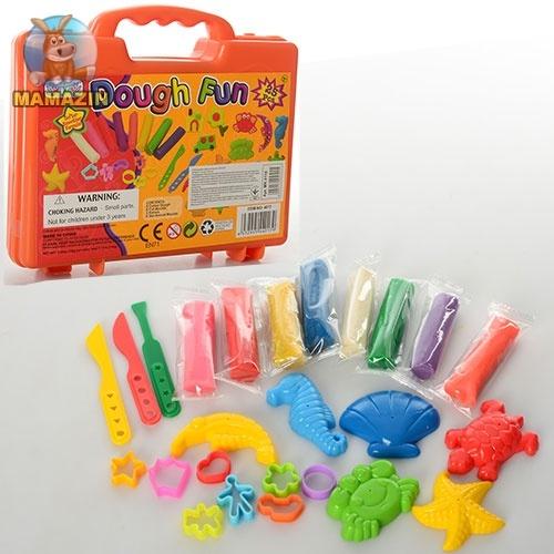 Игровой набор пластилин с инструментами