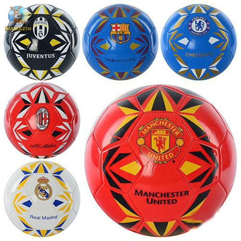 Мяч футбольный размер 5, ПВХ