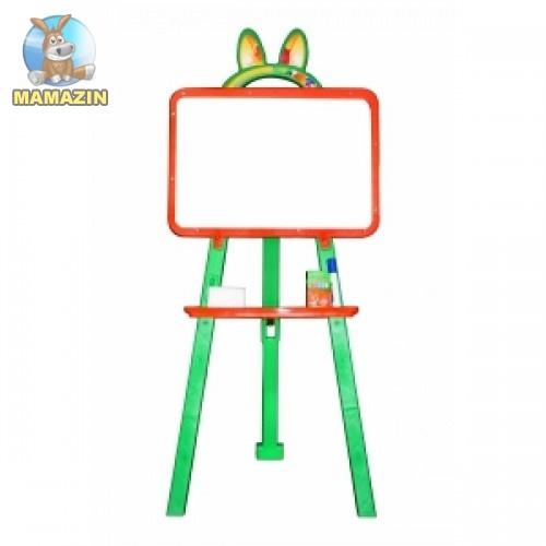 Мольберт магнитный для рисования (оранжево-зеленая)