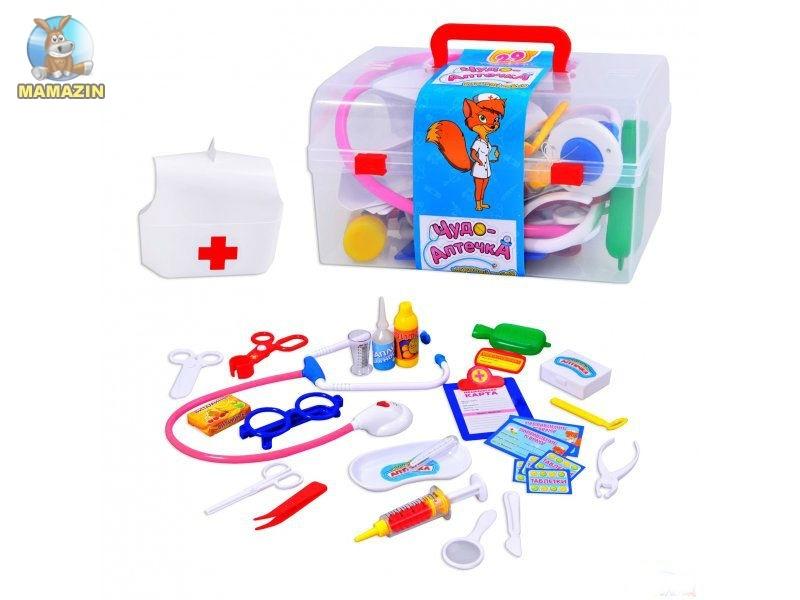 Набор доктора в чемодане 28 предметов