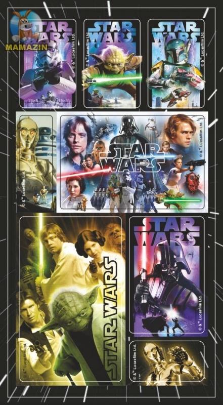"Набор наклеек Дисней ""Star Wars №5"""