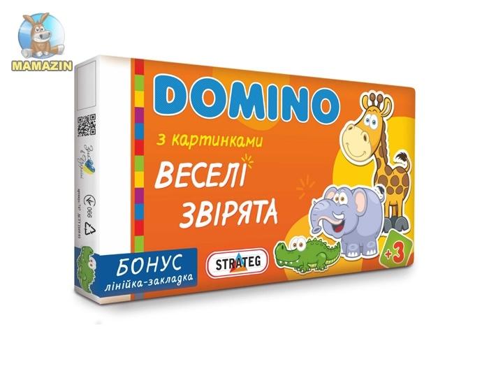 """Домино """"Веселые зверята"""""""