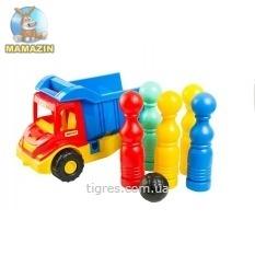 """Multi truck"" грузовик з кеглями"