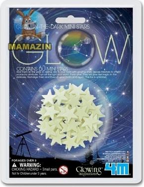 Звезды мини 60 шт ТМ 4m