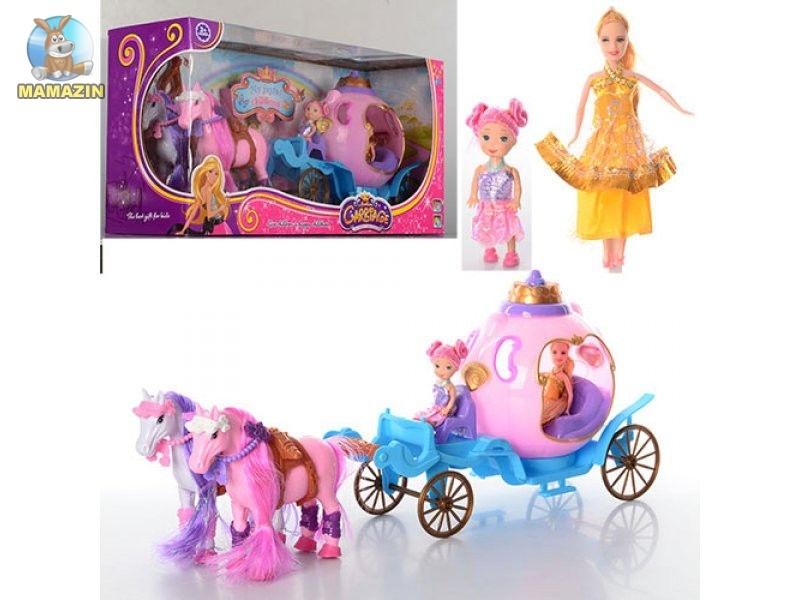 Карета с куклами