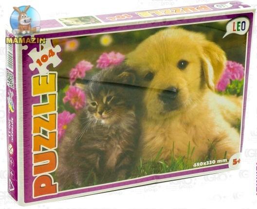 """Пазлы  """"Кошки и собаки"""""""