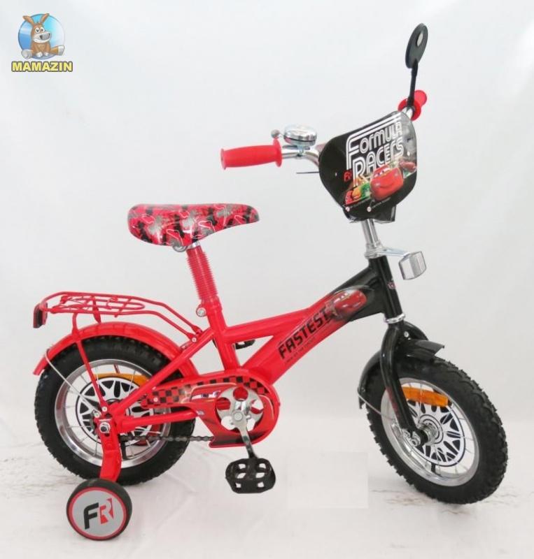"""Велосипед детский 2-х колесный 18"""", """"Тачки"""", красный"""