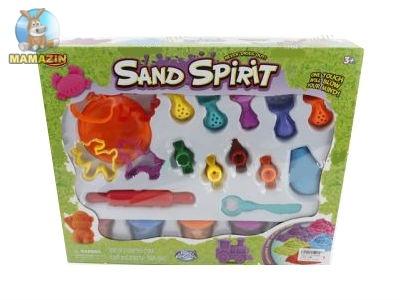 Песок кинетический с набором инструментов