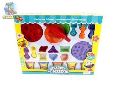 Пластилин с набором для лепки