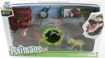 Игровой набор с Динозавром и аксессуарами