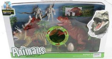 """Игровой набор """"Динозавры"""" с аксессуарами"""