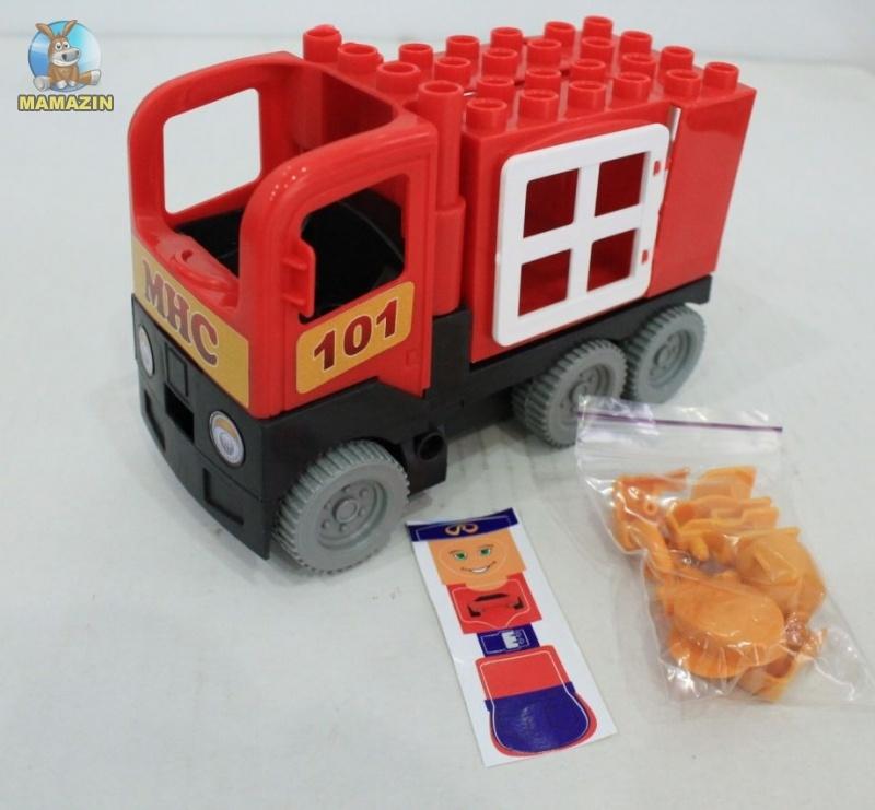 Конструктор-машинка Пожарная