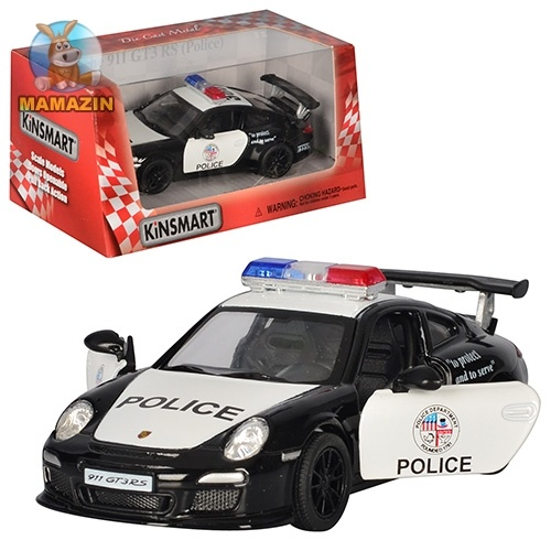 Коллекционная машинка Porsche 911 GT3 RS (Police)