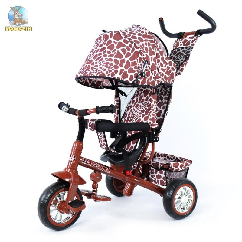 Велосипед трехколесный TILLY ZOO-TRIKE, коричневый