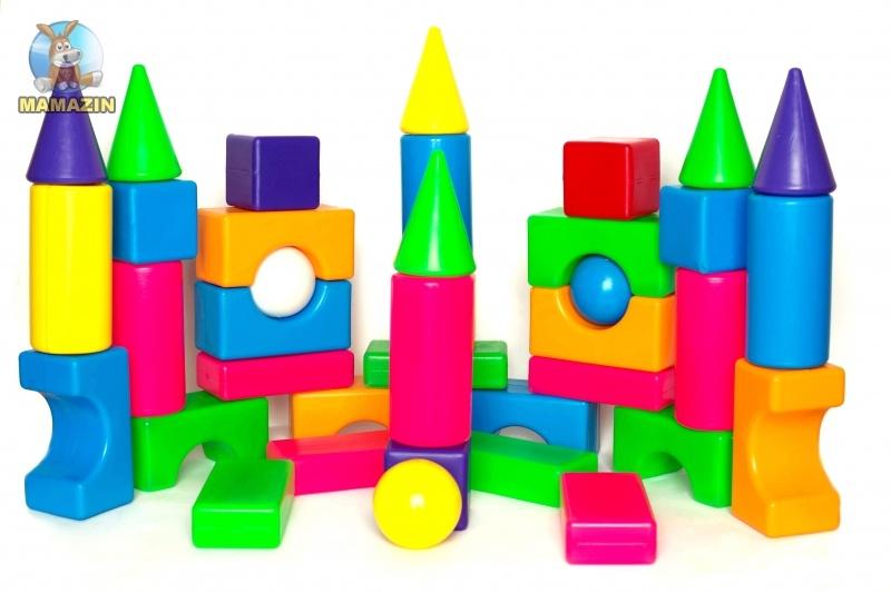 Конструктор кубики Строитель № 2