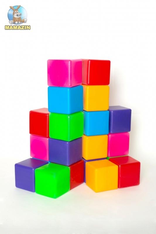 Кубики цветные  Бамсик