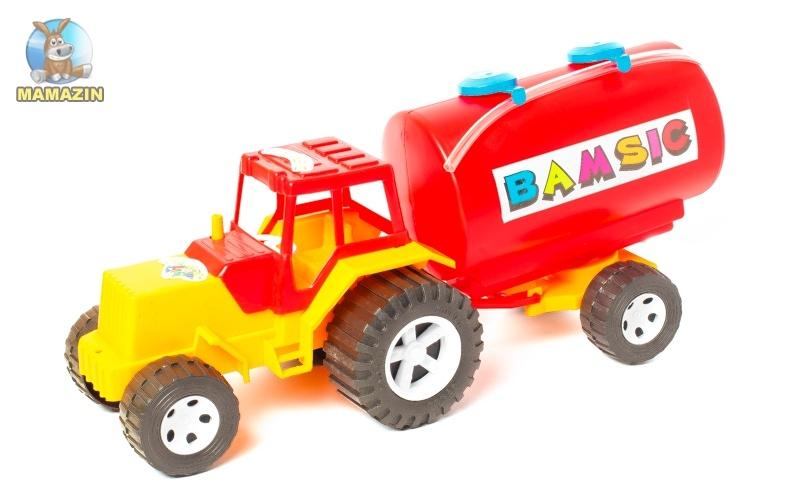 Трактор с бочкой ТМ Бамсик