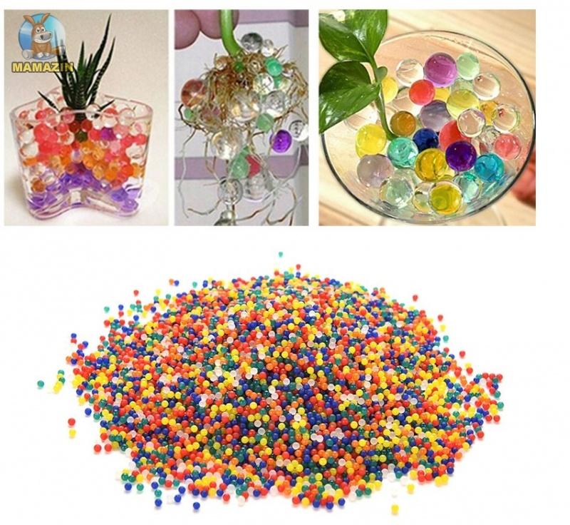Гелевые шарики для цветов