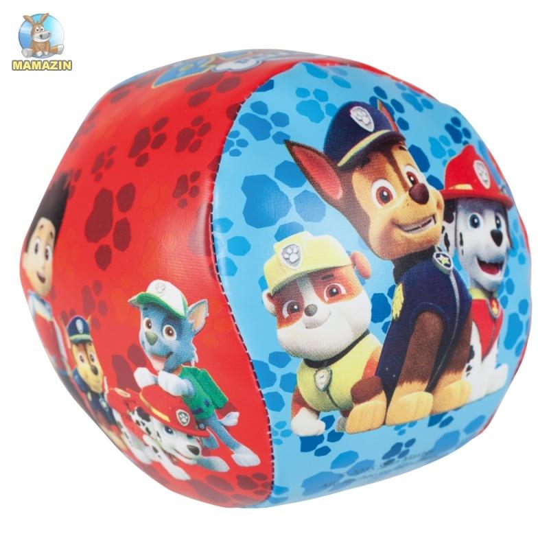 """Мягкий мяч """"Щенячий патруль"""", 10 см, лицензия"""