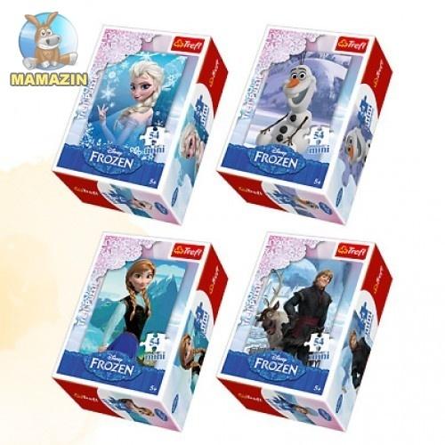 """Пазлы Trefl """"Крижане серце /Disney Frozen"""", 54 детали"""