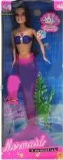 Кукла-русалка  со светом
