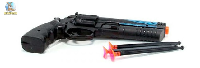 Пистолет  пули на присосках