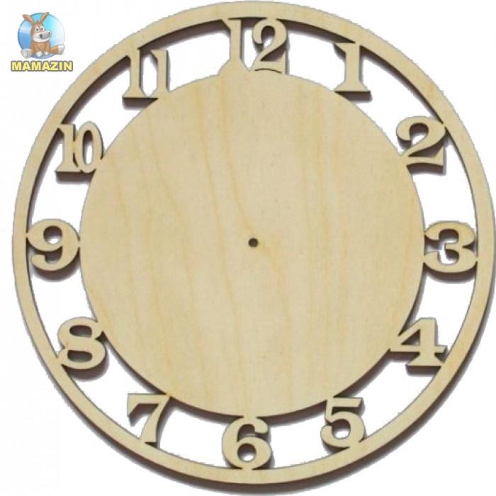 Деревянная заготовка Часы